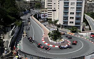 Image d'un virage au GP de Monaco